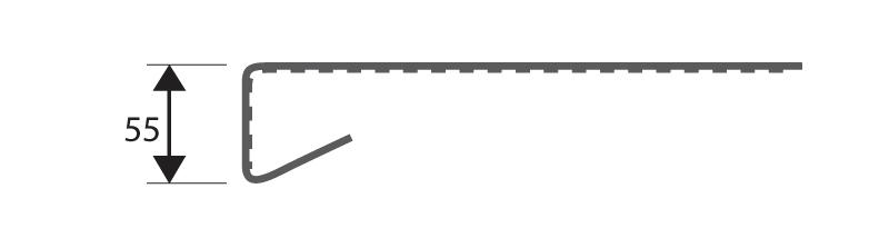 Parapety nakładkowe renowacyjne PCV